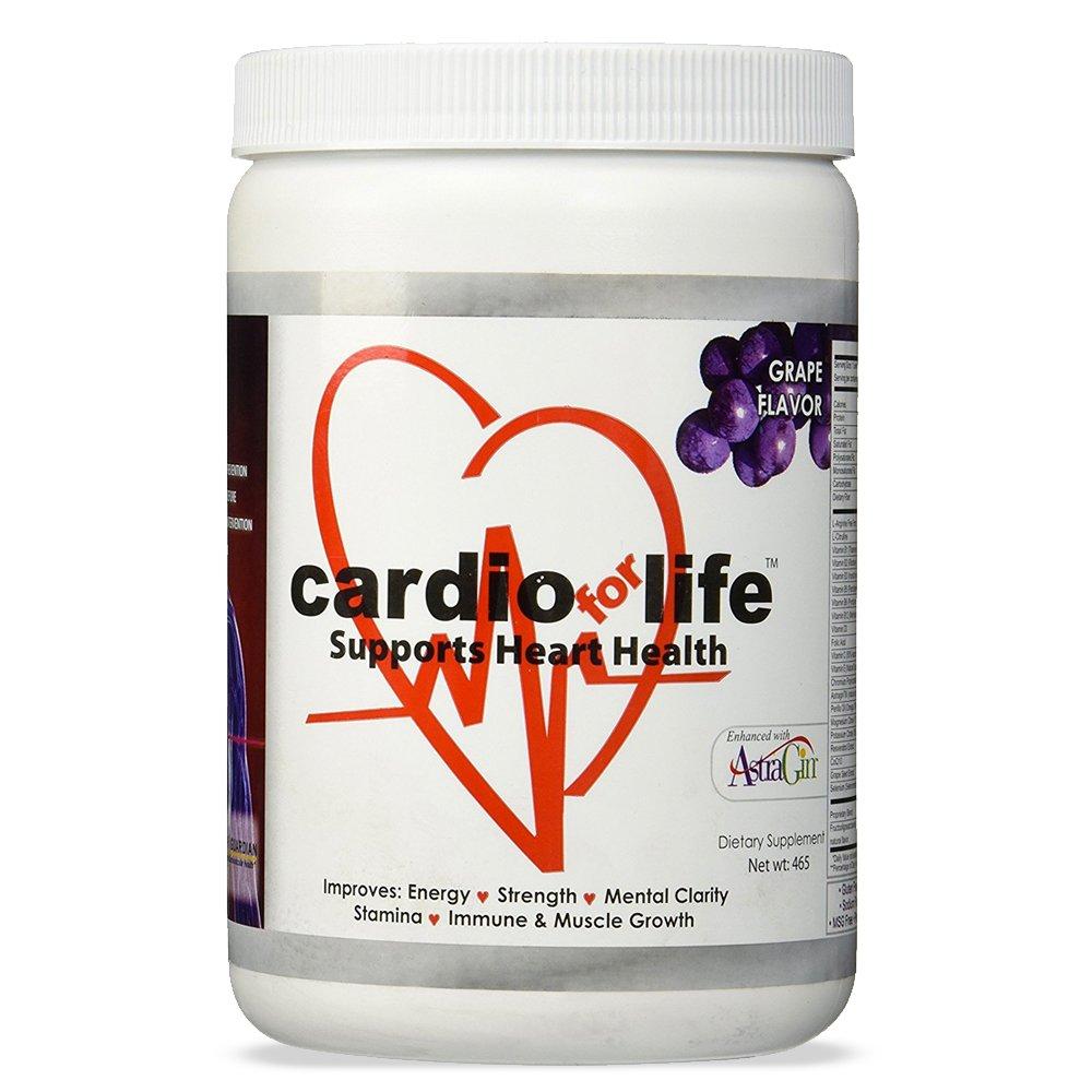 Cardio for Life L-Arginine Powder 16oz - Orange - Natural Nitric Oxide  Supplement for