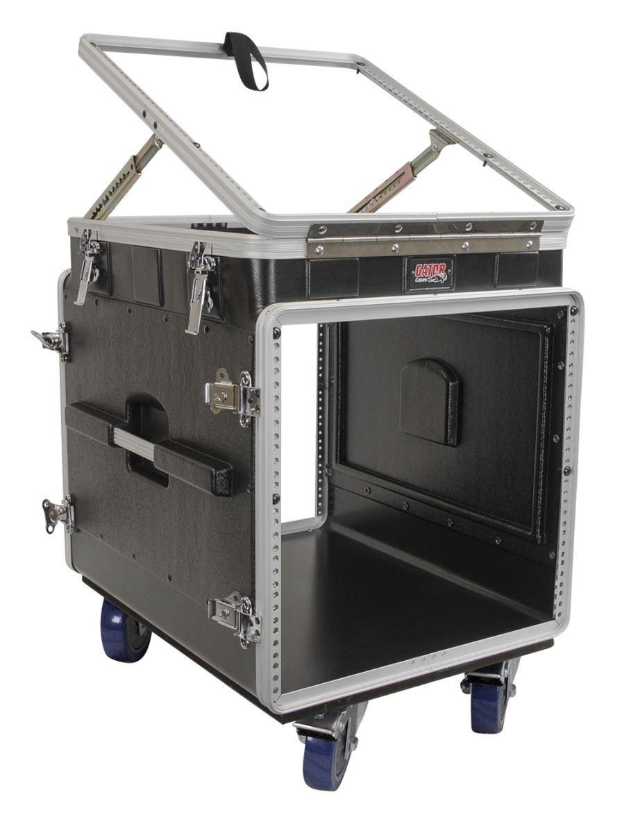 Gator Cases 12u調整可能なトップ、オーディオミキサーコンソール下部10uラックケース( grc-12 X 10 PU ) B000C5PK2G