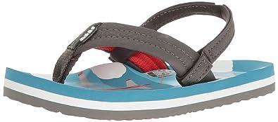Reef Boys' Ahi Sandal, Blue Planes, 3-4 M US Toddler