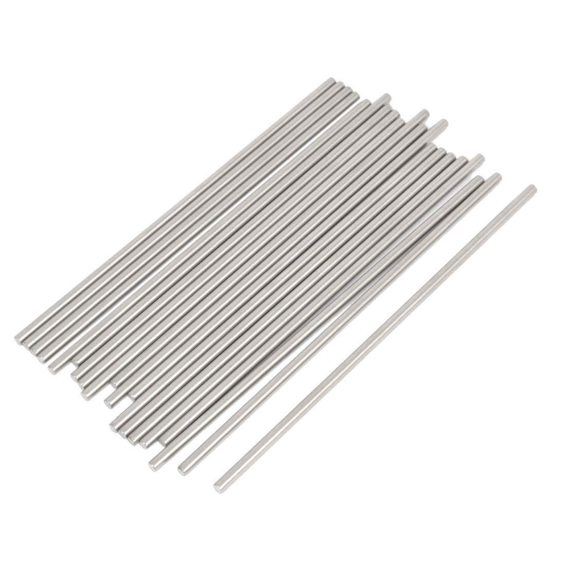 5 Pcs RC Airplane Stainless Steel Round Rods Axles Bars 3mm x 150mm