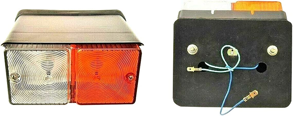 with bulb 12v VINTAGE EBRO Tractors Rear Tail Flasher Lamp light set of LH /&RH