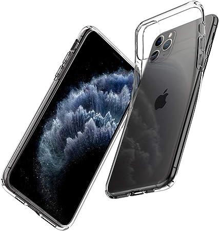 Spigen Liquid Crystal Hülle Kompatibel Mit Iphone 11 Pro Max Crystal Clear Elektronik