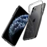 Spigen Liquid Crystal with Soft Gel Transparency Designed for iPhone 11 Pro Max Case Cover (2019) - Crystal Clear