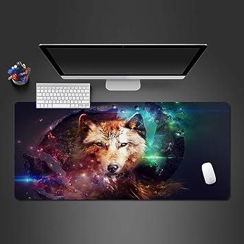 czxmp 80 * 40cm*3mmLobo Fresco Alfombrilla de ratón Caliente PC ...