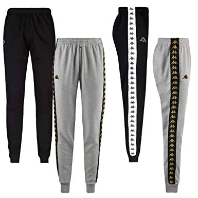 reputazione prima la migliore vendita qualità affidabile Pantalone Kappa Banda Agrif Slim Nero Uomo