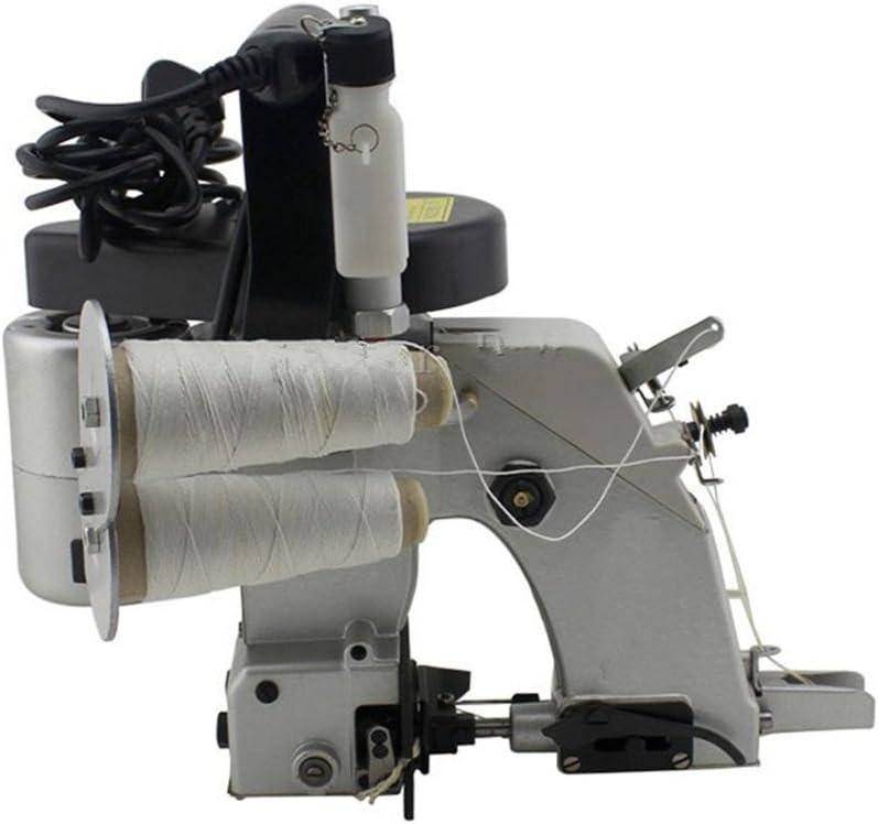 GK26 – 22 doble aguja doble hilo sellador máquina de coser eléctrica portátil para bolsa de tejido aspecto de piel de serpiente bolsa saco: Amazon.es: Bricolaje y herramientas