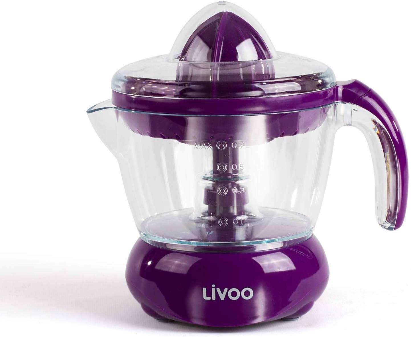 Exprimidor eléctrico de 700 ml, exprimidor de frutas con boquilla ...