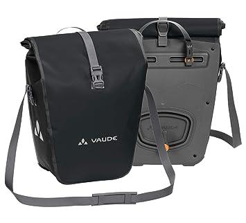 VAUDE Aqua Back – Juego de 2 bolsas para bici adaptables a la carga e impermeables