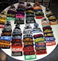 Team, City, & State Name Blending Color Cuffed Winter Knit Hat Cap Beanie
