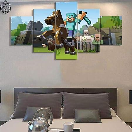 Mxsnow 5 Cuadro sobre Lienzo Marco De Madera Mural HD Canvas ...