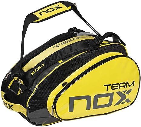 NOX Paletero Team Amarillo: Amazon.es: Deportes y aire libre