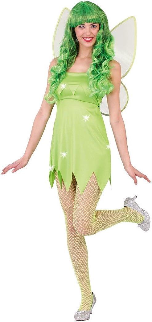 Guirca Disfraz de Hada Verde Campanilla
