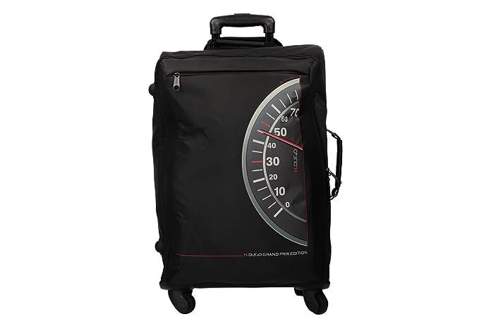 4e2cce3c9bf H2O Maleta semirrígida negro mini equipaje de mano ryanair VS273   Amazon.es  Ropa y accesorios
