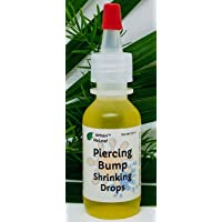 Urban ReLeaf Piercing Bump Shrinking Drops ! Gentle, Effective Aftercare Liquid. 100% Natural with Essential Oils. Fast and Gentle Help for Scars, Nodules, Cartilage, Nose, Ear Spots