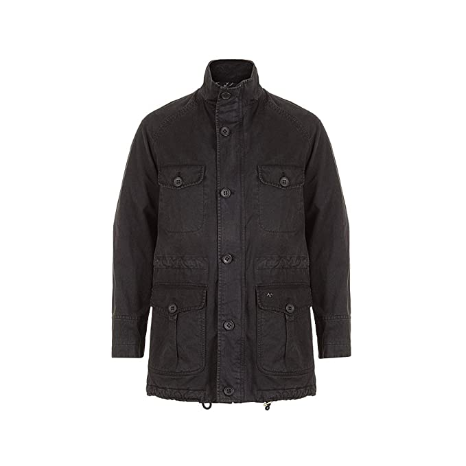 Thomas Burberry - Chaqueta - para Hombre Negro XL: Amazon.es ...