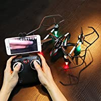 RC Quadcopter,Ounice HJ830 Led 6-axes 2.4G With Altitude Hold 2MP WiFi FPV HD Camera APP Quadcopter