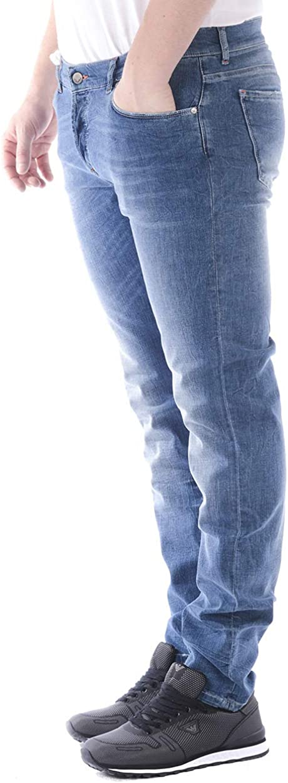 Daniele Alessandrini Jeans Uomo PJ4610L840M3800 Denim