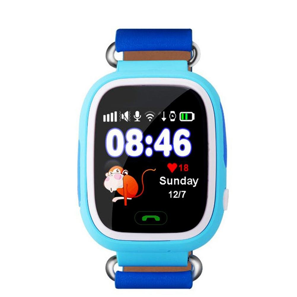 Amazon.com: L@YC Kids Smart Watch Color Screen Q90 Children ...