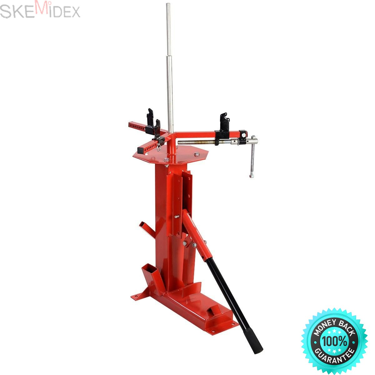 SKEMIDEX---4'' To 16.5'' Multi Tire Changer For Motorcycle GoCart Trailer Bike ATV Truck Product Weight: About 70 Lbs Package Include: Tire Changer Small Post Large Post 1 User's Manual