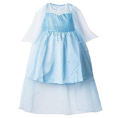 e0511da3ba42cd Catherine Cottage 仮装 コスプレ 雪の女王 ドレス&ジレ風トレーン ハロウィ 子供ドレス CC0354