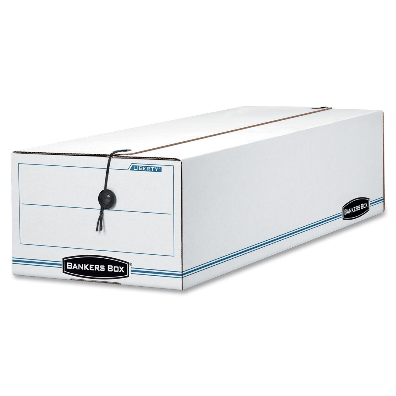 Bankers Box Liberty Check and Form Boxes, Check, 4.25'' x 6'' x 23.25'', 12 Pack (00003) by Bankers Box