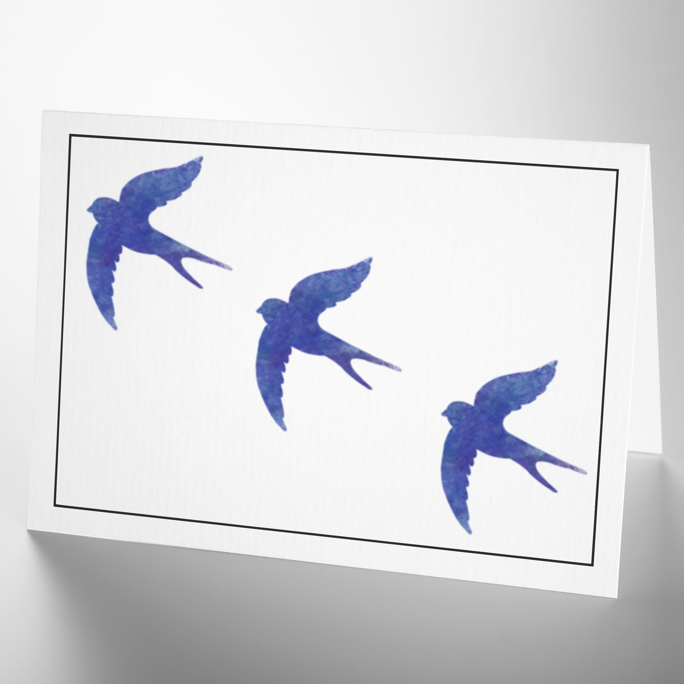 Craftstar Swallows Stencil A4 Reusable Swallow Stencil Sheet