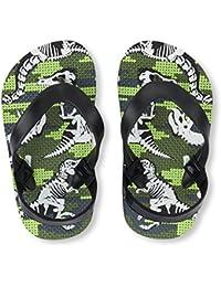 Kids' TB Dino FF Flat Sandal