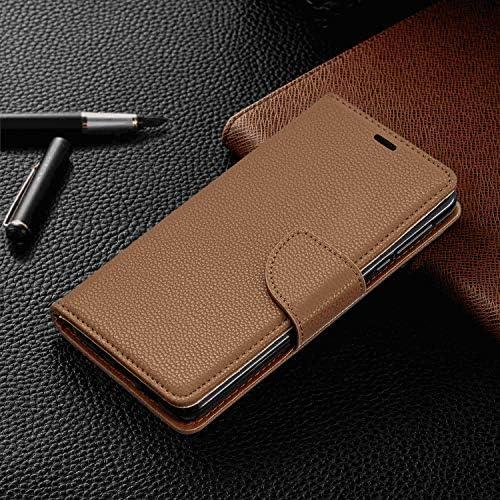 Samsung Galaxy A70 PUレザー ケース, 手帳型 ケース 本革 全面保護 ビジネス スマートフォンカバー カバー収納 財布 手帳型ケース Samsung Galaxy サムスン ギャラクシー A70 レザーケース