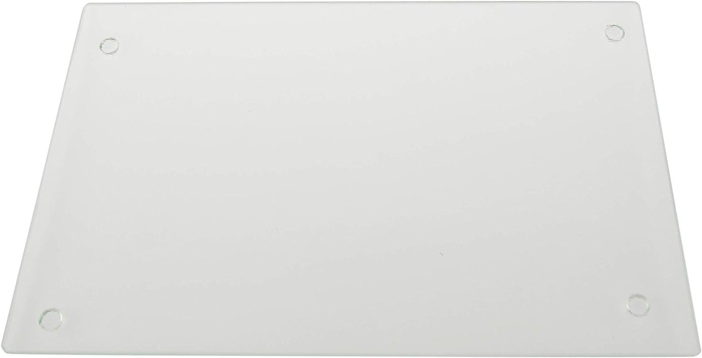 "HOME-X Glass Cutting Board, Chopping Board, Kitchen Accessories, 11 3/4"" x 7 3/4"""