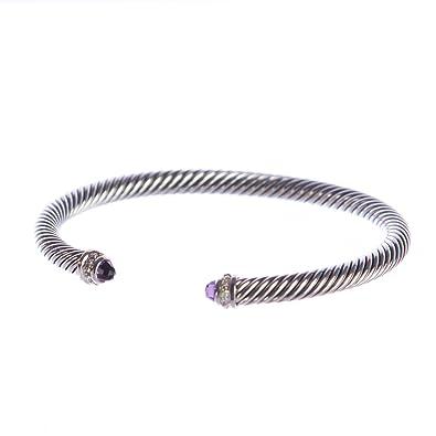 Amazon Com David Yurman Sterling Silver Cable Classics Bracelet 5mm