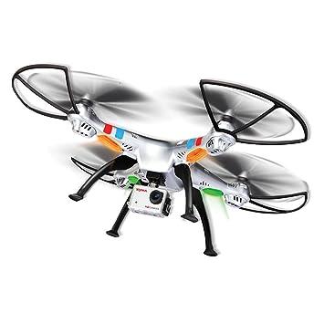 Syma Dron 2.4G WI-FI R/C 4CH QUAD CAM 8MP 50 CM: Amazon.es ...