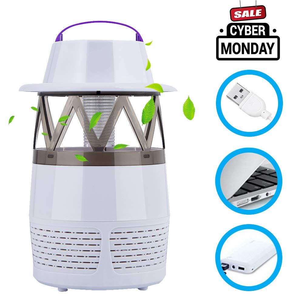 Make You Perfect Mosquito Trap Bug Zapper Electronic Killerelectric Killerinsect Killermosquito Killer Lamp Pest Night Light Uv Led Insect Fly For Home