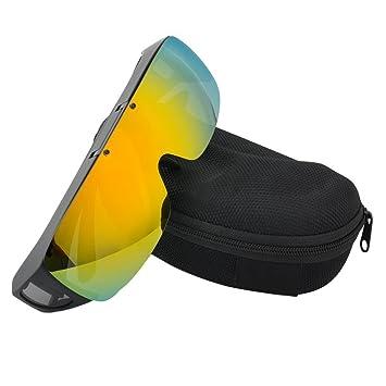 Flip Up gafas de sol polarizadas gafas de sol más de cristal splash-up gafas