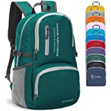 ZOMAKE Lightweight Travel Backpack, Packable Water Resistant Hiking Daypack Foldable Backpack for Women Men