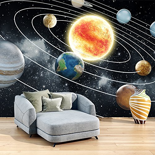 Sun & Planets In Our Solar System Galaxy Space Wall Mural Photo Wallpaper available in 8 Sizes Small Digital by azutura