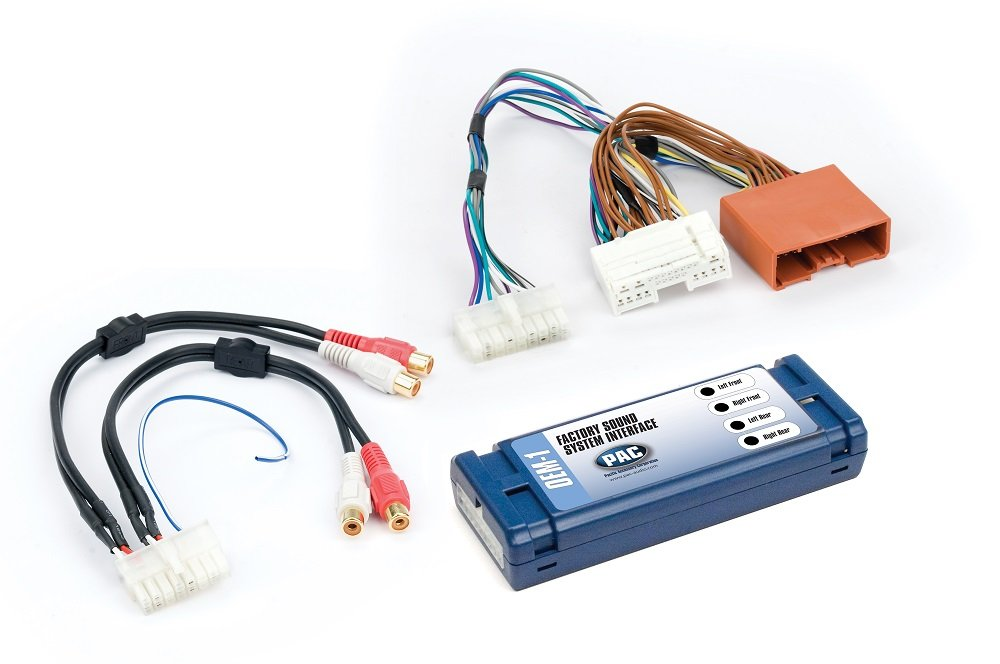 PAC AOEM-MAZ2 Interface that Allows Replacement or Addition of an Amplifier in Select Mazda Vehicles Without a Factory Bose Sound System