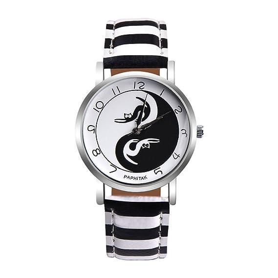 Las mujeres cuarzo relojes paphitak Cat Patrón Remoción hembra relojes de venta Lady relojes baratos watches-h93: Amazon.es: Relojes
