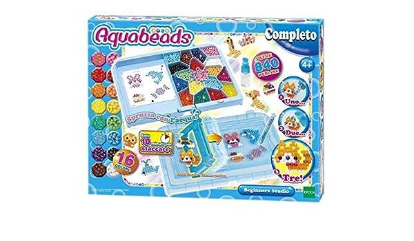 AQUABEADS Aquabeads principiantes Estudio Perle 840 / Col 16 377: Amazon.es: Juguetes y juegos