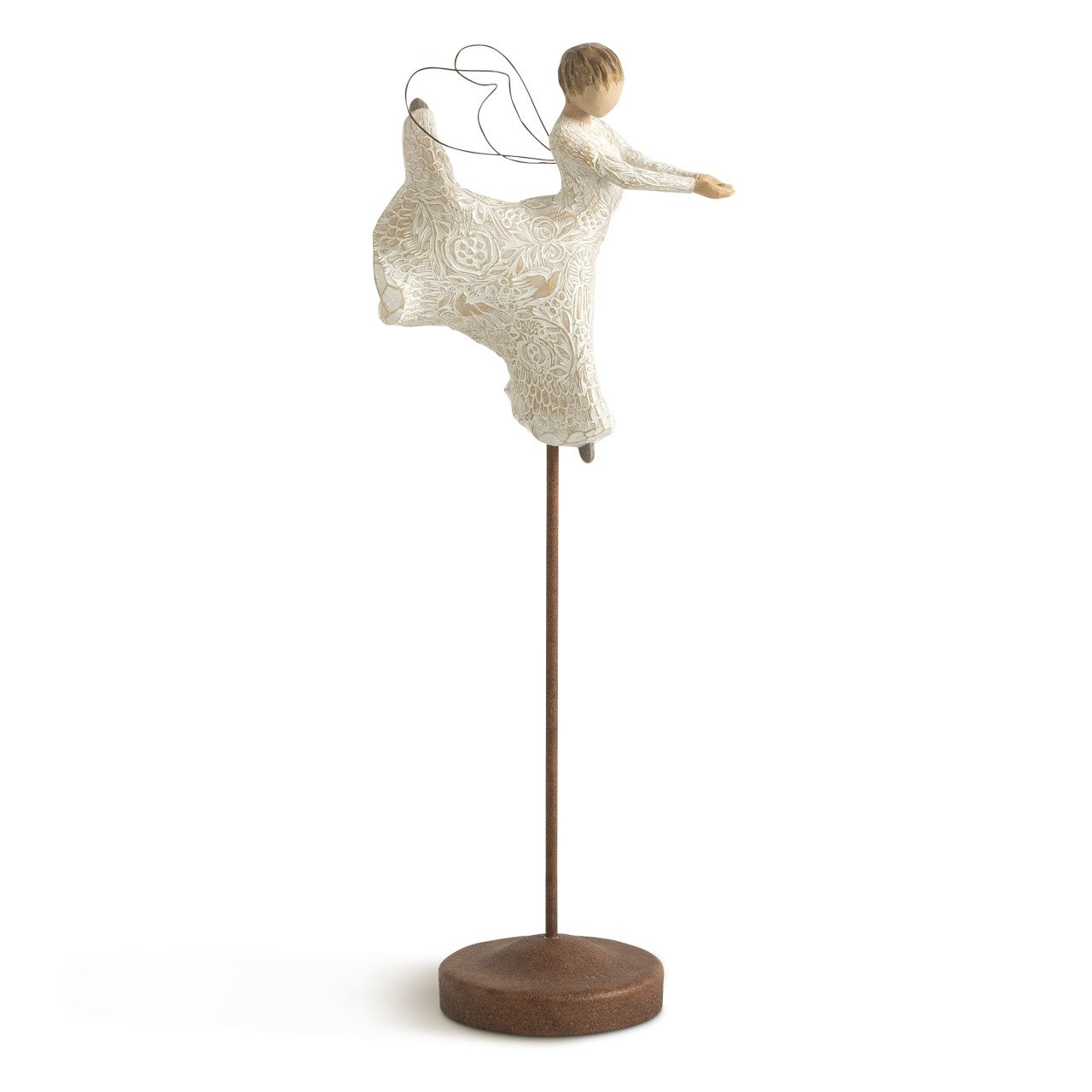 Willow Tree hand-painted sculpted angel, Dance of Life