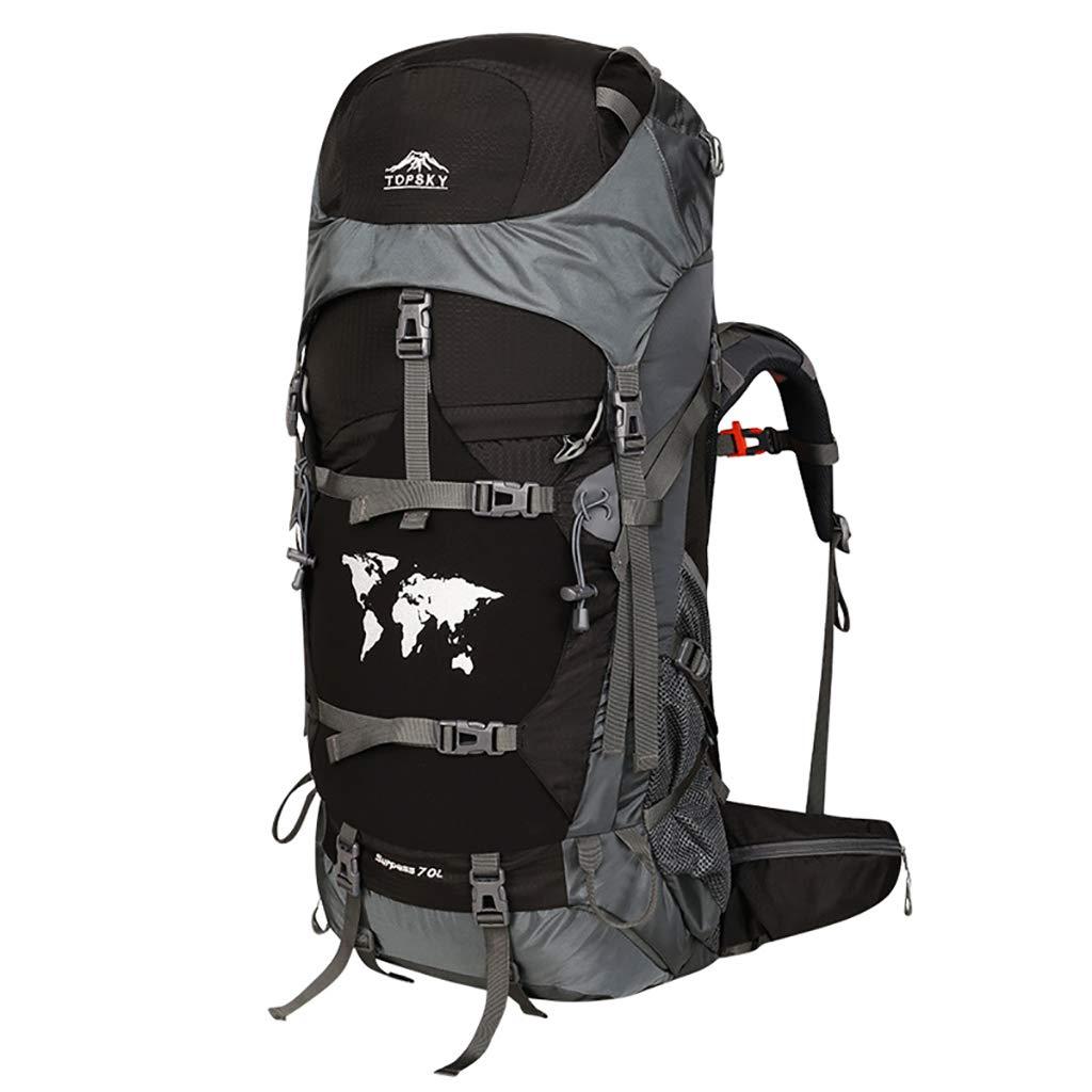アルパインパック バックパックアウトドアスポーツ登山バッグハイキングスポーツバックパックユニセックス多機能バックパック容量60L / 70L / 80L (色 : A, サイズ さいず : 70L) 70L A B07HBTHS45