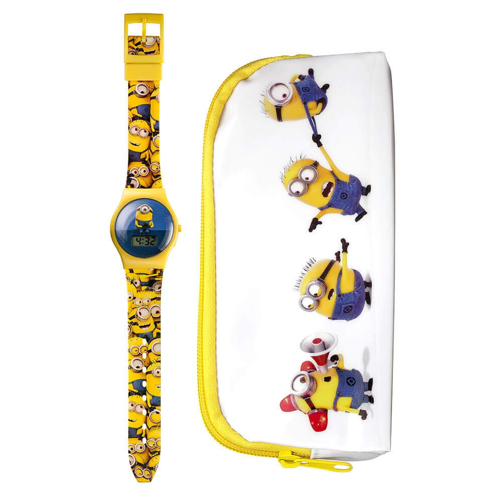 Minions Set con Reloj Digital y Estuche MNS15SET: Amazon.es: Relojes
