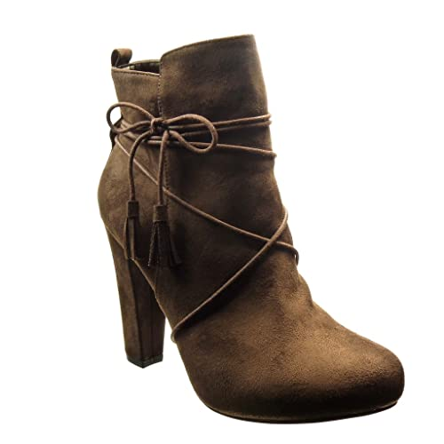 Brown Chaussures À Bout Rond Des Femmes Des Angkorly Sexy logqIYgX