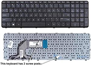 Replacement Laptop Keyboard For HP 719853-001 749658-001 776778-001 708168-001 749022-001 710248-001 747140-001 747141-001 747142-001 747143-001 750195-001 750196-001, US Layout Black Color