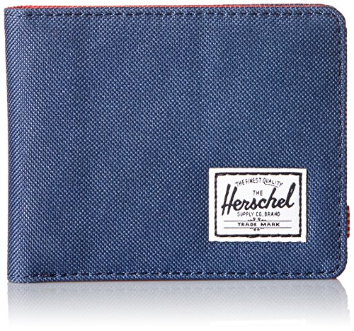 herschel-supply-co-mens-roy-wallet-red-navy-one-size