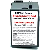 Save On Postage Ink Replacement for Pitney Bowes 765-9 Postage Machine Ink - Red Fluorescent Ink Cartridge Compatible with DM