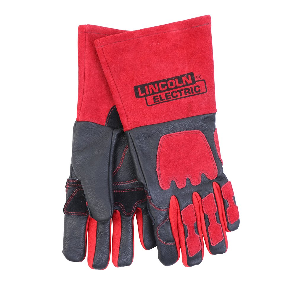 Lincoln Electric KH962 TIG Welding Gloves, One Size, Red
