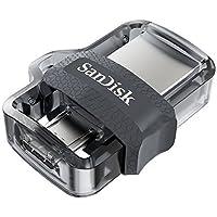 Pen Drive Ultra Dual Drive M3.0, SanDisk, Pendrives, Prata