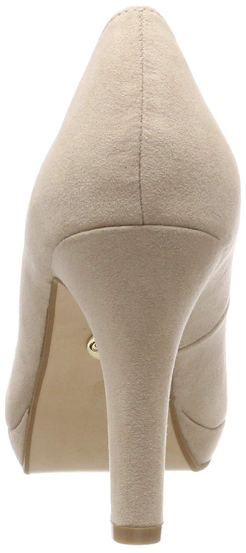 Buffalo Damen Carnelian Bhwmd 014# (Nude IMI Suede Pumps, Beige (Nude 014# 01 00) 1df05c