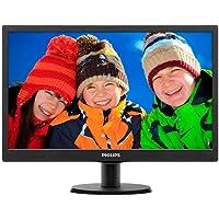 Philips 193V5LSB2 18.5 inch V-Line LED Display Monitor