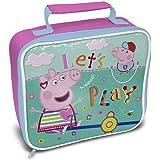 (ペッパ・ピッグ) Peppa Pig オフィシャル商品 子供用 キャラクター ランチバッグ お弁当かばん 女の子